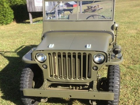 restored 1942 Ford GPW military for sale
