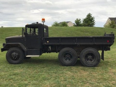 snow plow 1971 AM General M35 military for sale