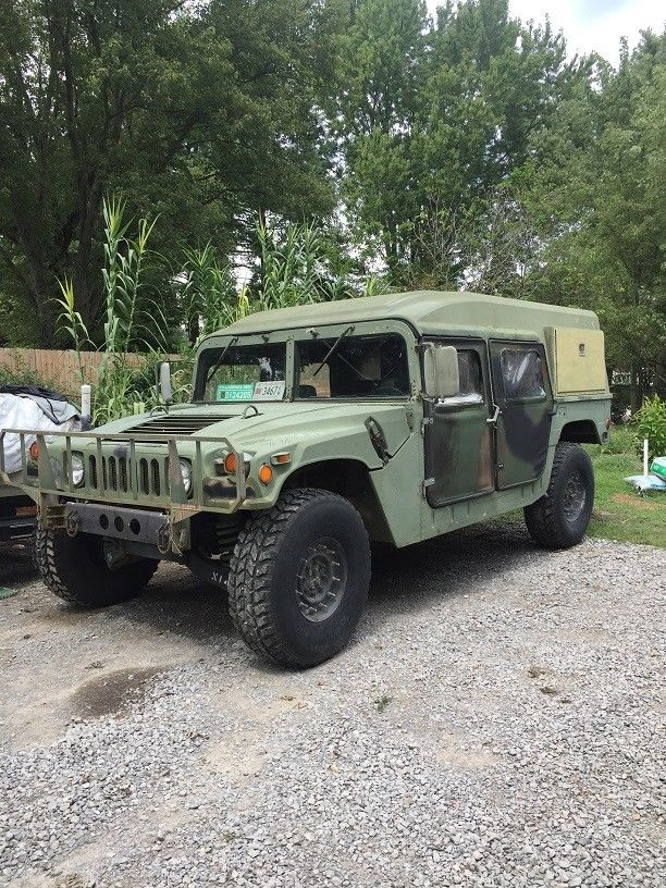 stock Humvee 1989 AM General M998 H1 military for sale