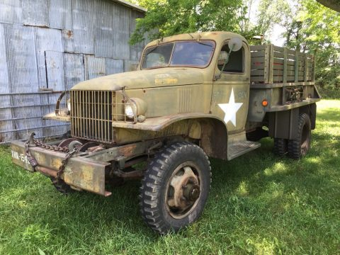 true survivor 1942 Chevrolet G506 1.5 ton truck military for sale