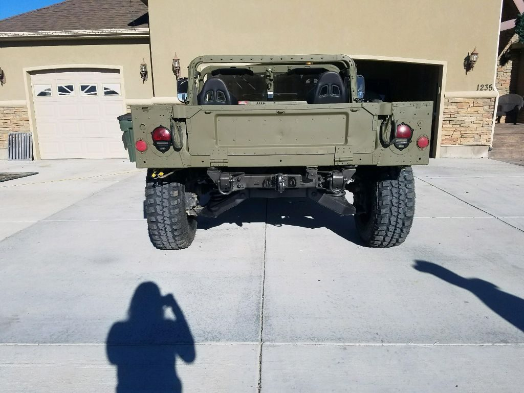 fresh paint 1993 AM General Humvee military