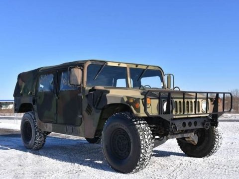fresh paintjob 1990 AM General M998 HMMWV Humvee military for sale