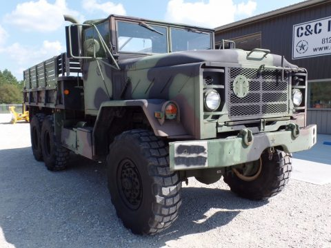 low miles 1986 AM General cargo truck military for sale