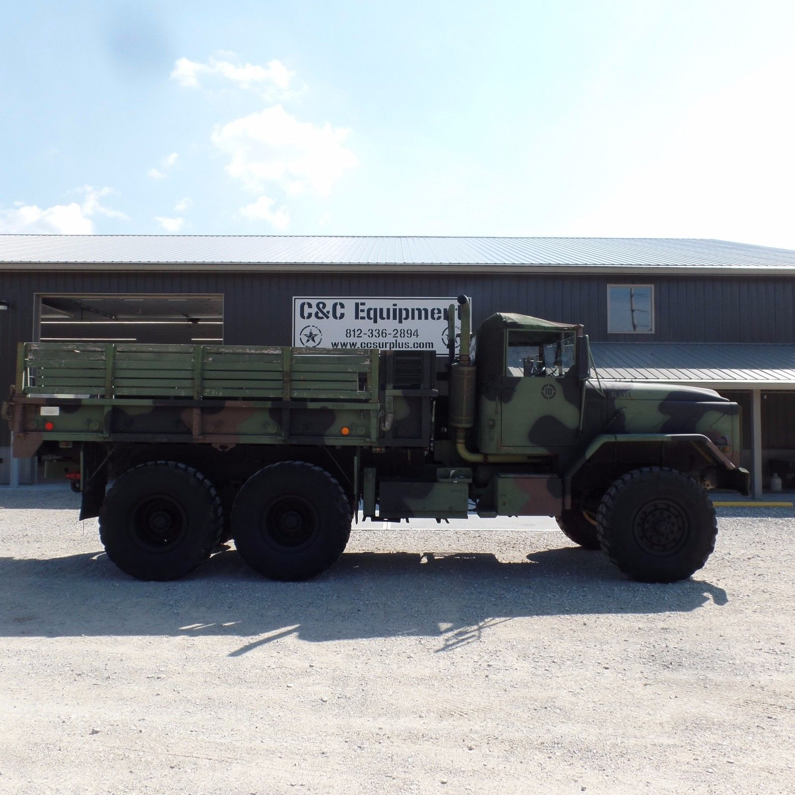low miles 1986 AM General cargo truck military
