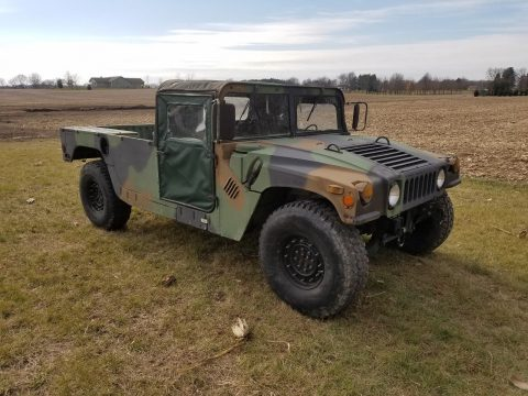 low miles 1992 AM General Humvee military for sale