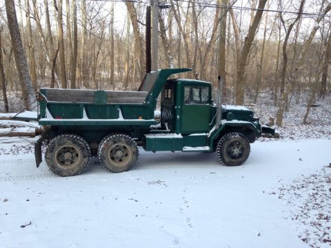 multi-fuel 1967 Kaiser M35A2 Deuce and a Half Dump Truck military for sale