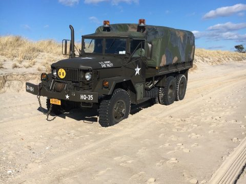 new tires 1971 Kaiser m35A2 military truck for sale