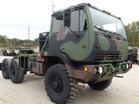nice shape 1998 Stewart Stevenson MTV M1088 Semi Truck military for sale