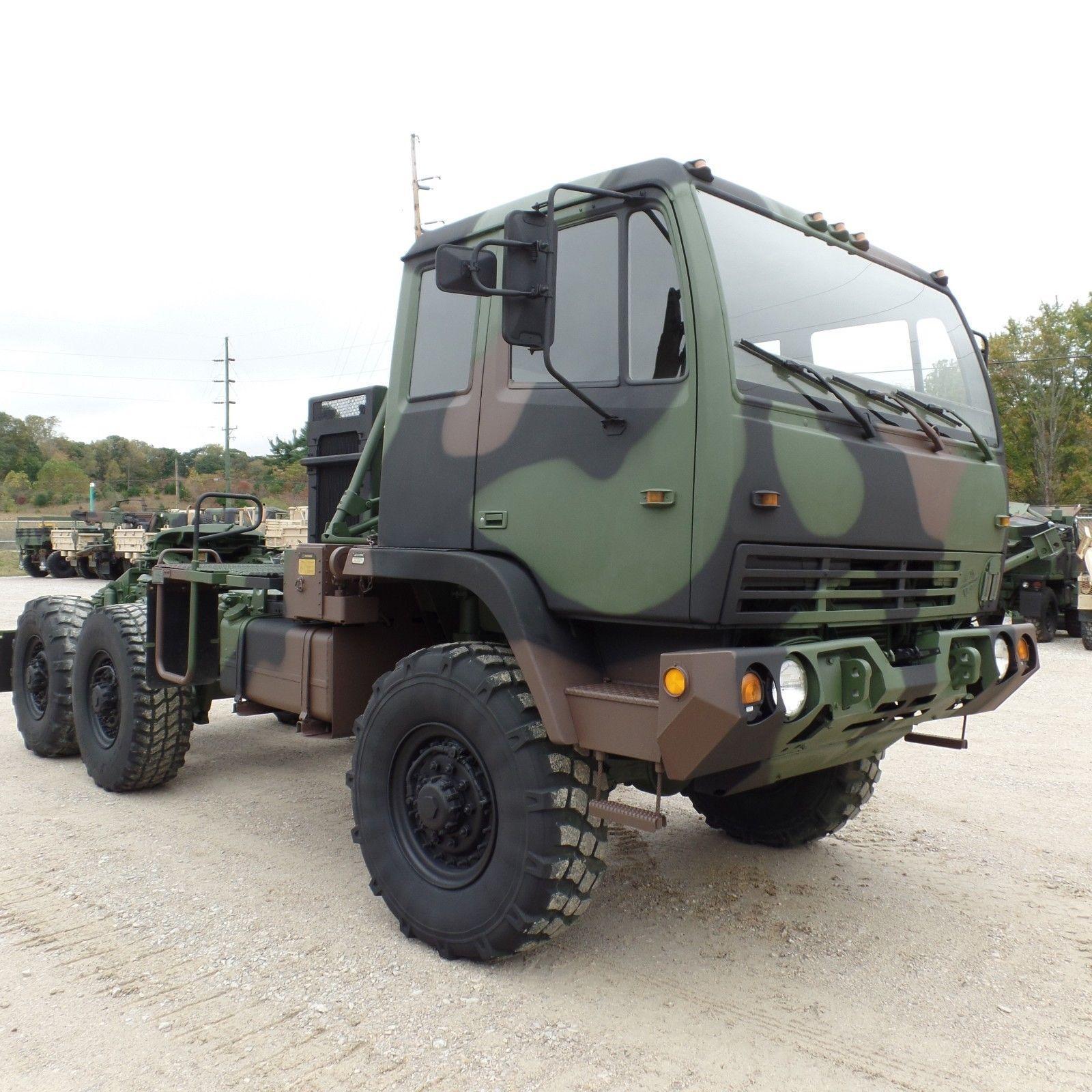 nice shape 1998 Stewart Stevenson MTV M1088 Semi Truck military for sale