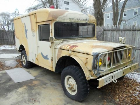 solid 1967 Kaiser JEEP military ambulance for sale