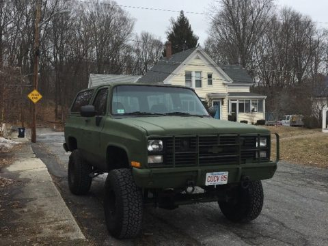 clean 1985 Chevrolet M1009 CUCV military for sale
