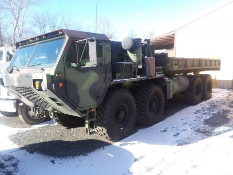 flatbed 1980 Oshkosh 8×8 Hemtt army Military truck for sale