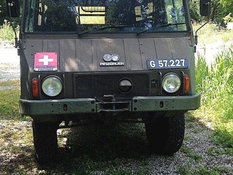 great condition 1972 Steyr PUCH Pinzgauer 710M military truck for sale