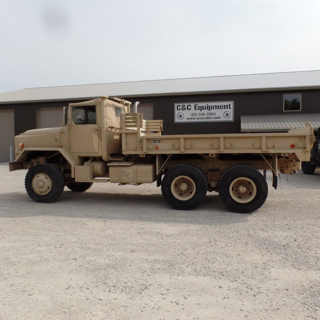 low miles 1984 AM General M923a1 Military Cargo Truck