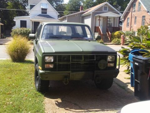 new shocks 1985 Chevrolet Blazer military for sale