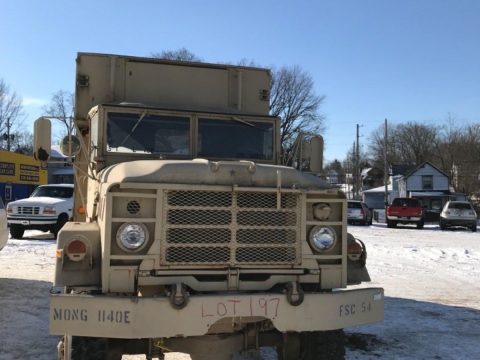 very low miles 1984 AM General M934 6×6 military for sale