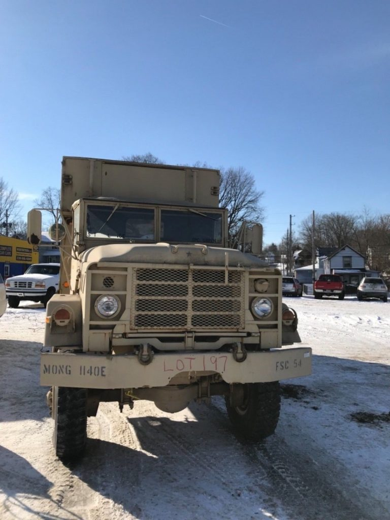 very low miles 1984 AM General M934 6×6 military