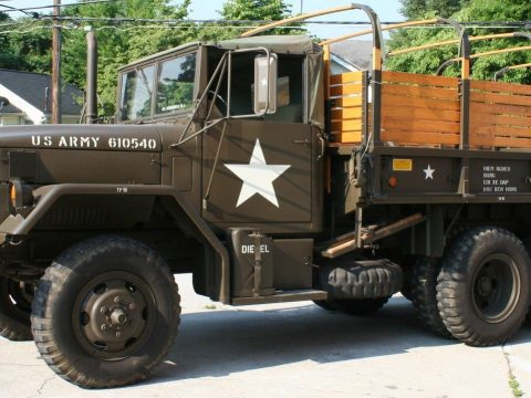 well maintained 1973 AM General M35a2c military for sale