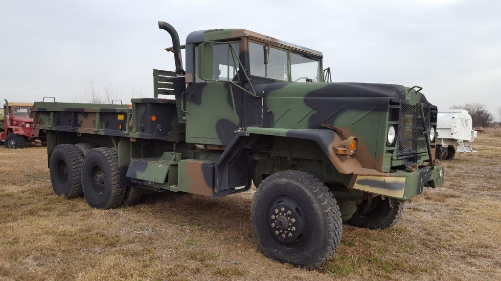 will need some work 1984 AM General M923 Military 6×6 Cargo Truck