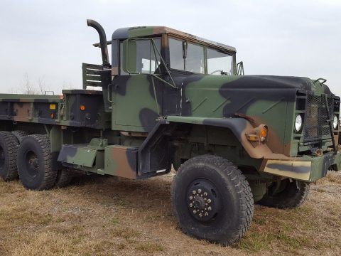 will need some work 1984 AM General M923 Military 6×6 Cargo Truck for sale