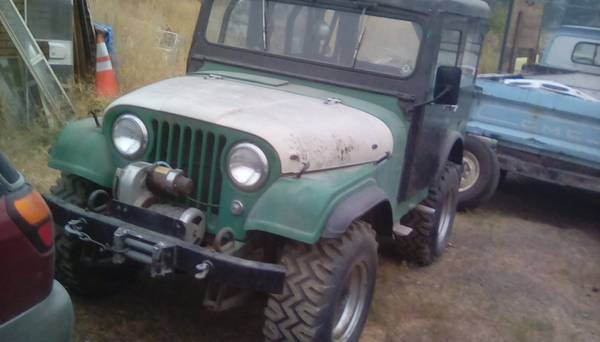 Arctic Top 1955 Willys Jeep military for sale