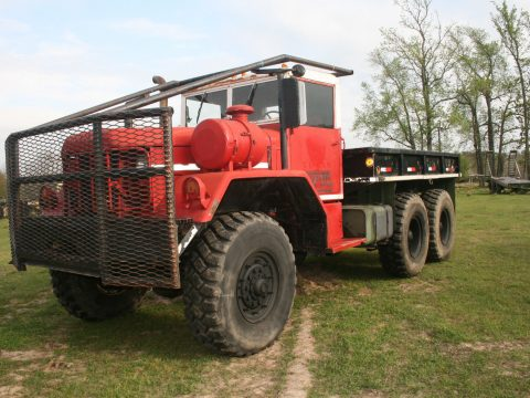 clean 1970 Kaiser M818 5TON Military 6X6 Cargo Truck for sale