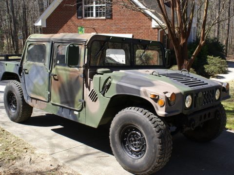 excellent shape 1992 AM General M998 Hmmwv military for sale