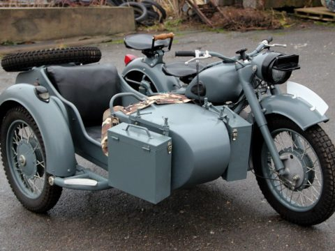fully restored 1969 Dnepr K 650 with Sidecar Military for sale