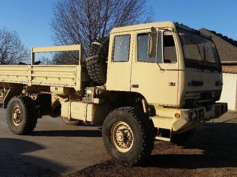 low miles 1998 Stewart & Stevenson M1078 4X4 Military Truck for sale