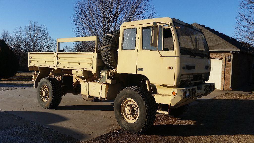 low miles 1998 Stewart & Stevenson M1078 4X4 Military Truck for sale