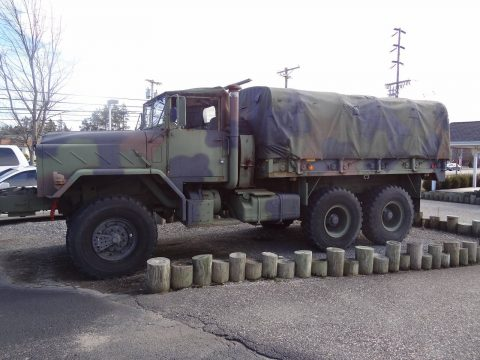 needs winch repair 1991 BMY M925a2 5 ton military for sale