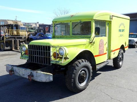 new transmission 1962 Dodge M43 4×4 3/4 Ton Ambulance military for sale