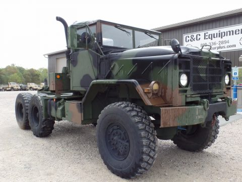 rebuilt 1990 BMY M931a2 Military Semi Truck for sale