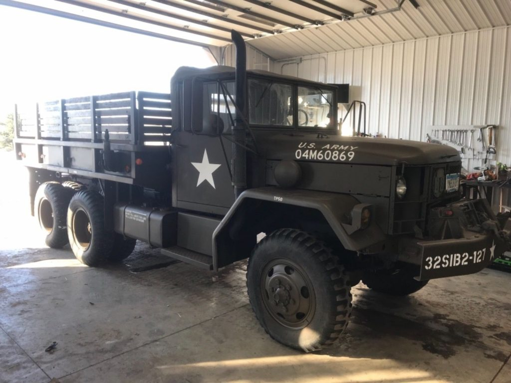 rust free 1968 Kaiser M35a2 Deuce And A Half Military 6×6 for sale