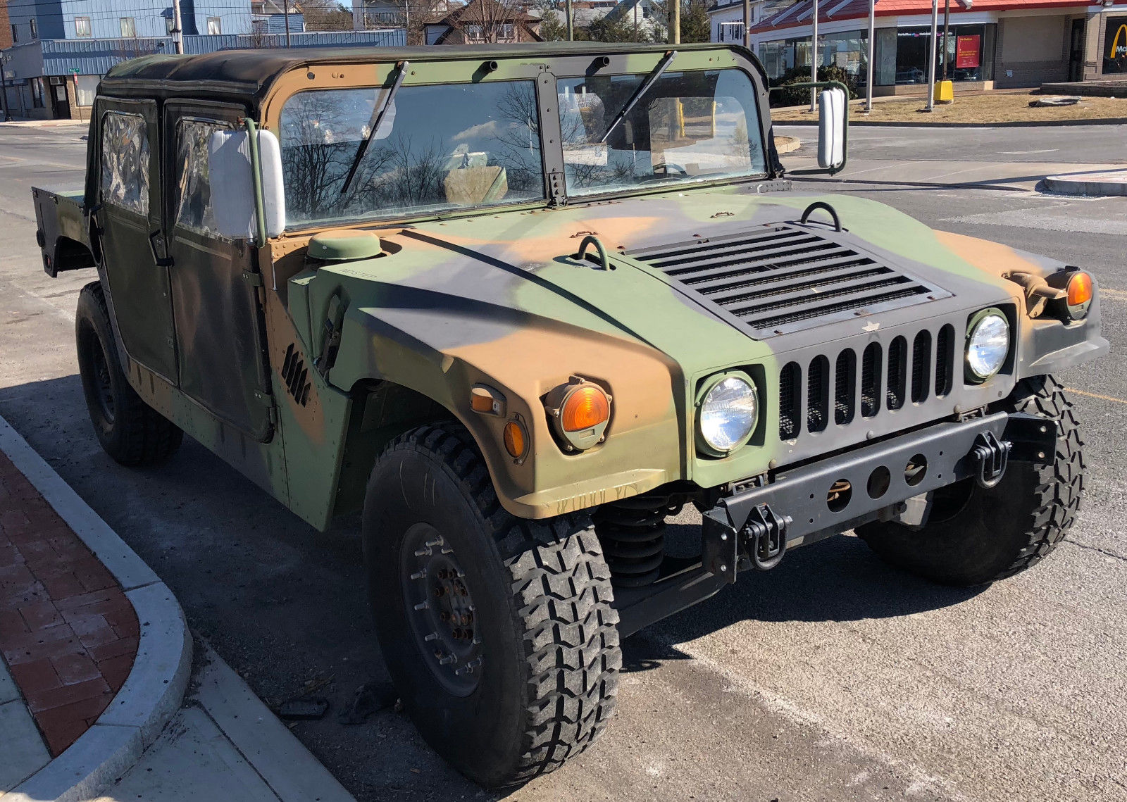serviced 1987 AM General M998 Humvee military