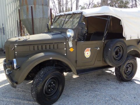 works great 1968 GAZ EX Military Convertible for sale