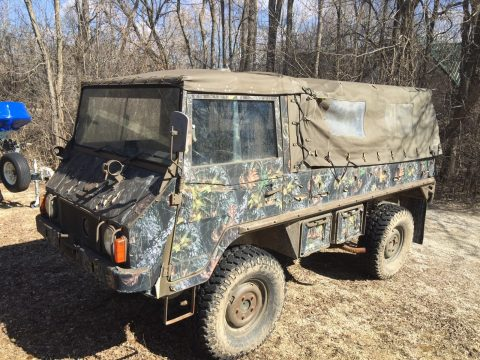 Great Running 1974 Steyr PUCH Pinzgauer military for sale