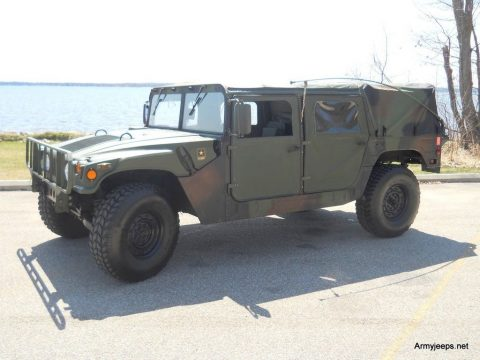 great shape 1985 H1 Hummer M 998 military for sale