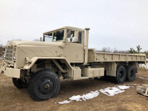 Low Miles 1985 AM General M927 Military Cargo Truck for sale
