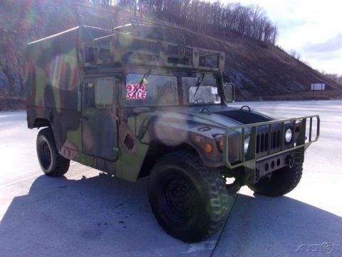 low miles 1989 AM General Hummer M998 military for sale