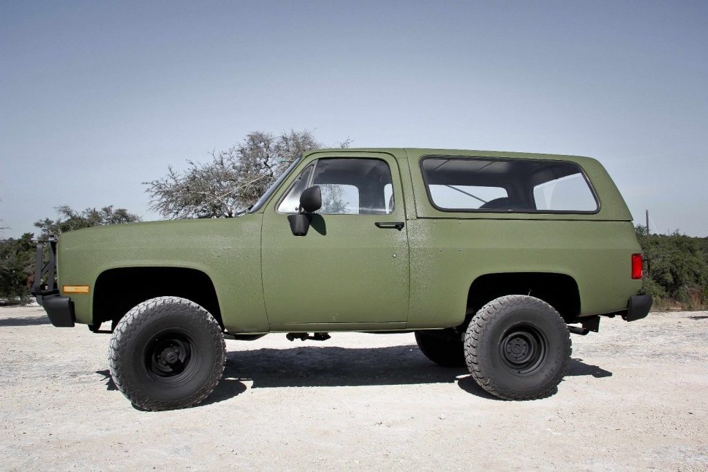new parts 1986 Chevrolet Blazer K5 CUCV M1009 military for sale