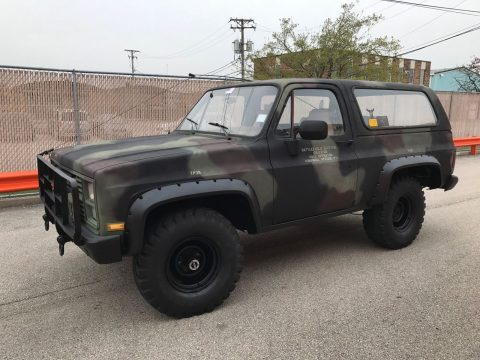 original 1984 Chevrolet Blazer K5 military for sale