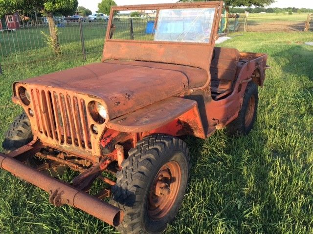 classic 1942 Ford GPW military project for sale