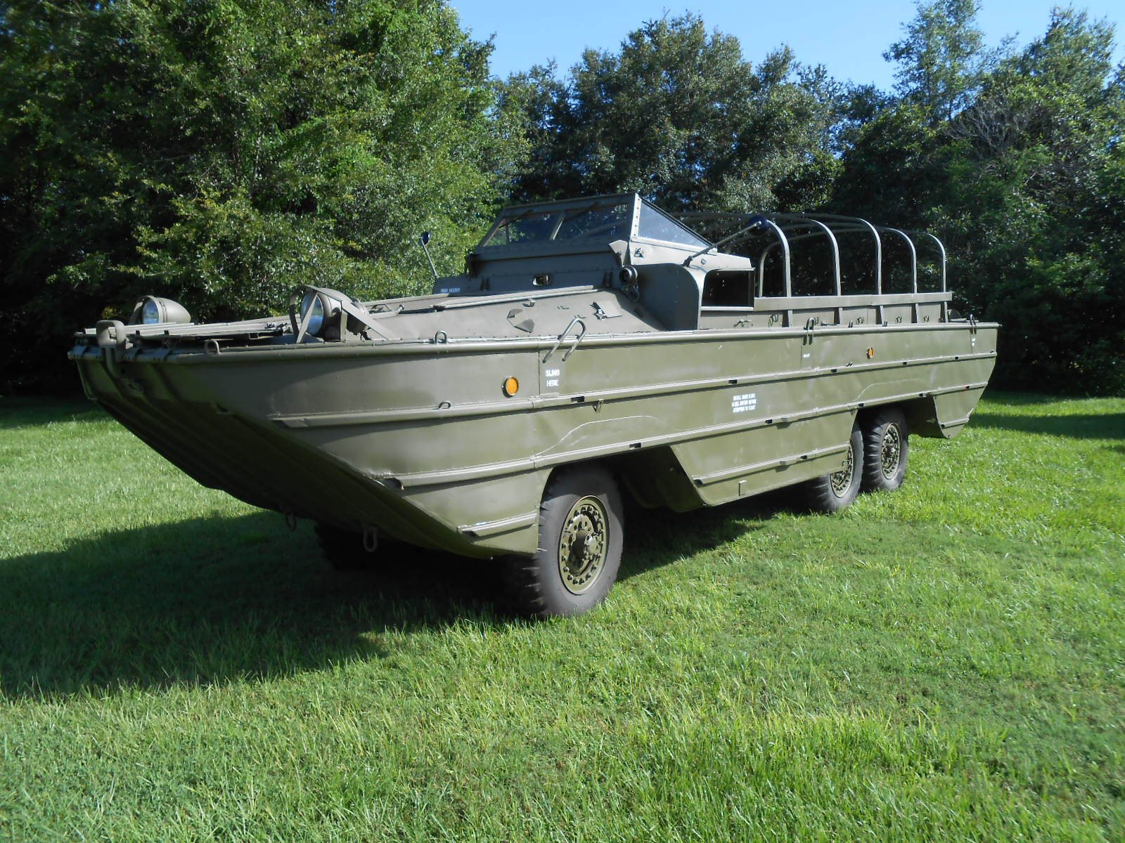 everything works 1944 GMC DUKW Military 6×6 for sale