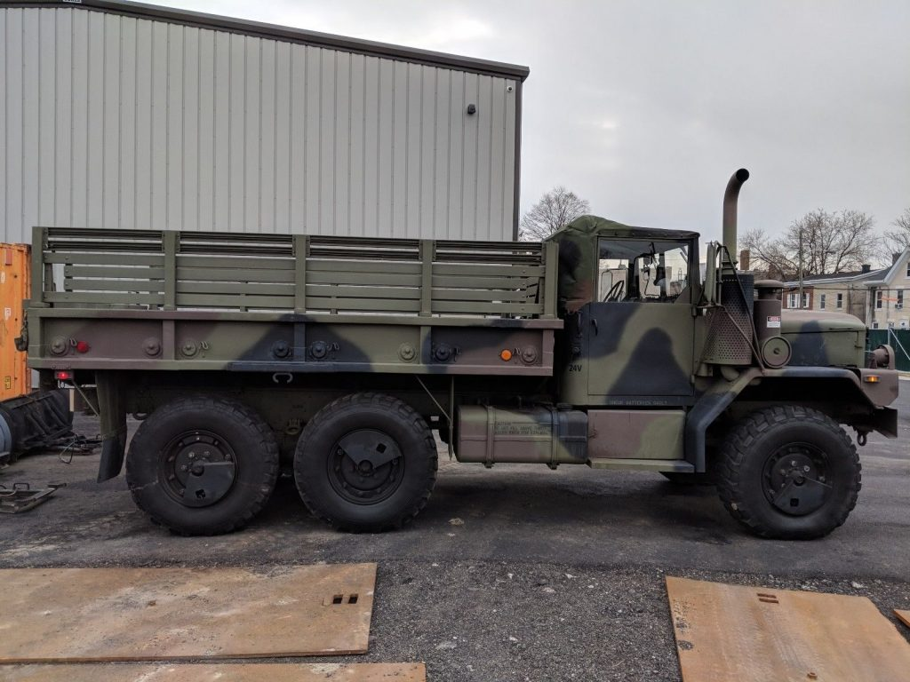 garaged 1993 AM General M35a3 Duece and 1/2 military