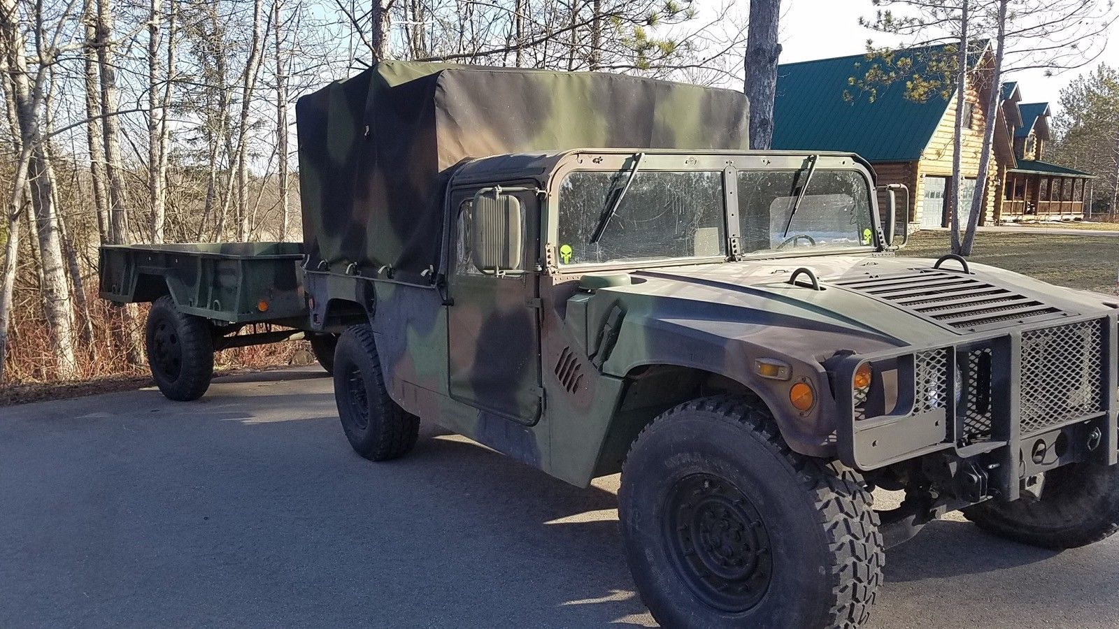 low mileage 1990 AM General M998 Hummer military for sale