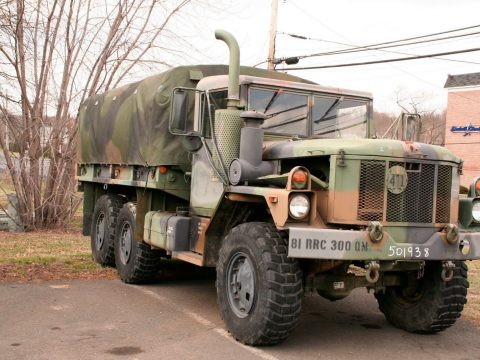 low miles 1993 AM General M35 A3 2 1/2 Ton 6×6 military for sale