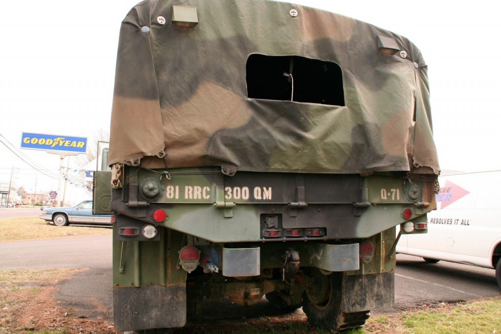 low miles 1993 AM General M35 A3 2 1/2 Ton 6×6 military
