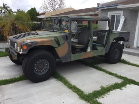 low miles 1995 AM General Humvee for sale