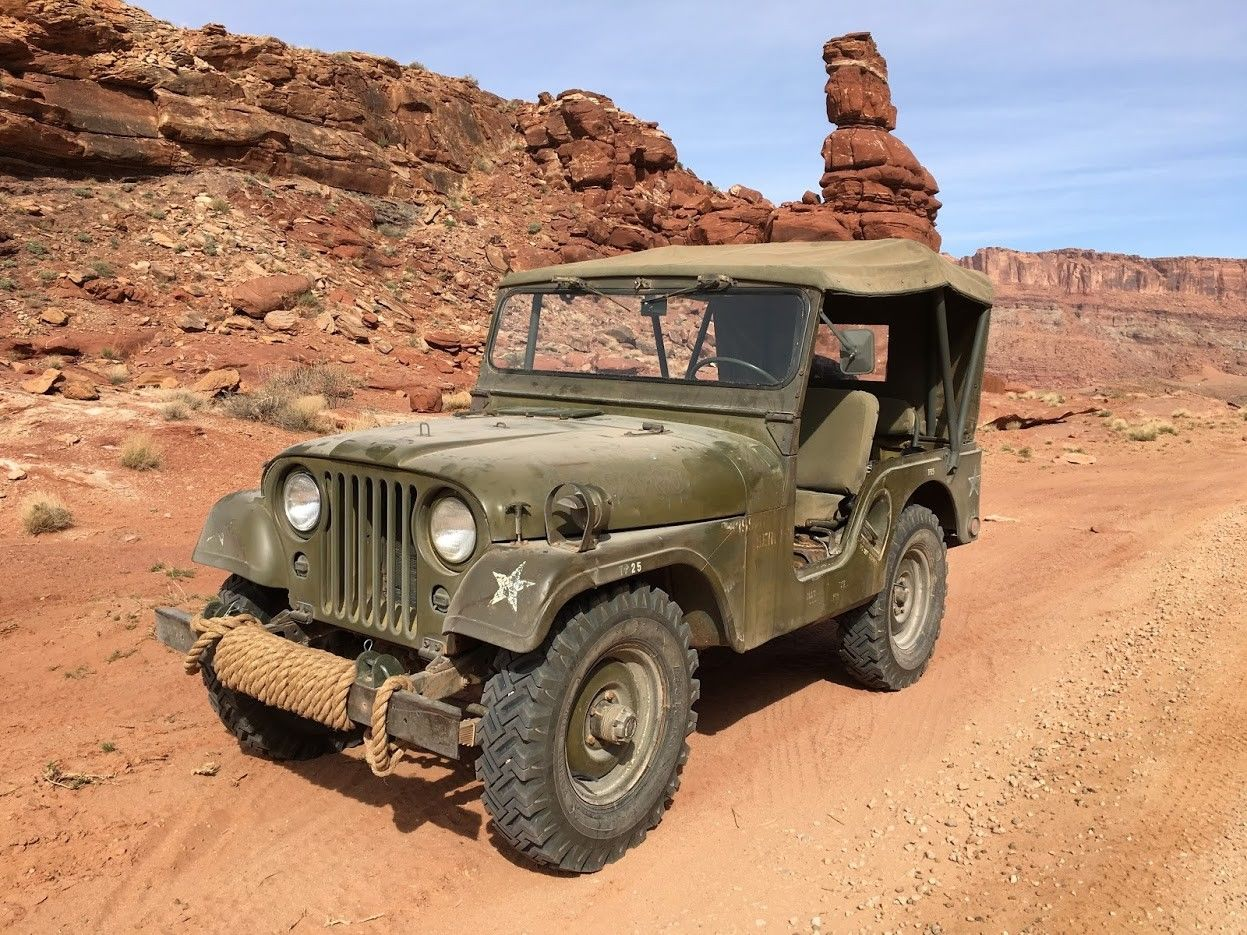 low miles and original paint 1953 Willys M38A1 Military for sale